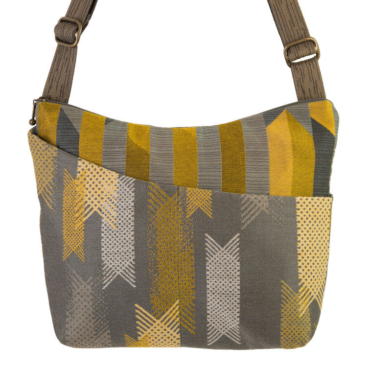 Cottage Bag in Lattice Grey