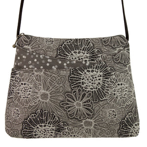 Sparrow Purse in Blooming Grey
