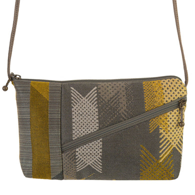 Tomboy Purse in Lattice Gray