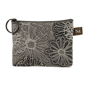 Coin Purse in Blooming Gray