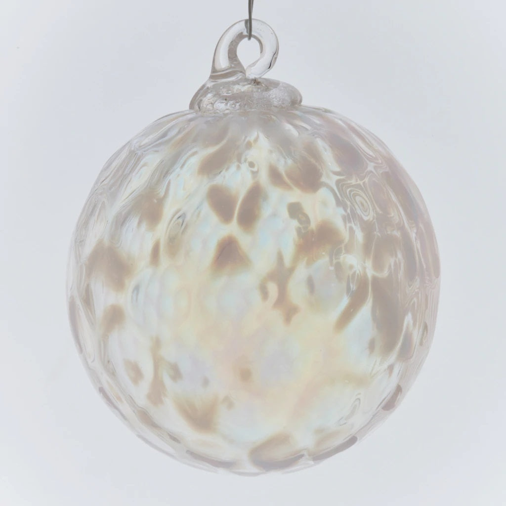 White Illusion Ornament