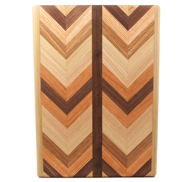 Large Herringbone Cutting Board