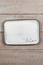 Rectangle Plate Shalom