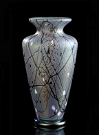 Traditional Vase, Medium Parisian Fog