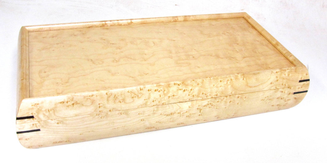 Birdseye Maple Valet Box