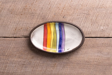 Mini Oval Rainbow