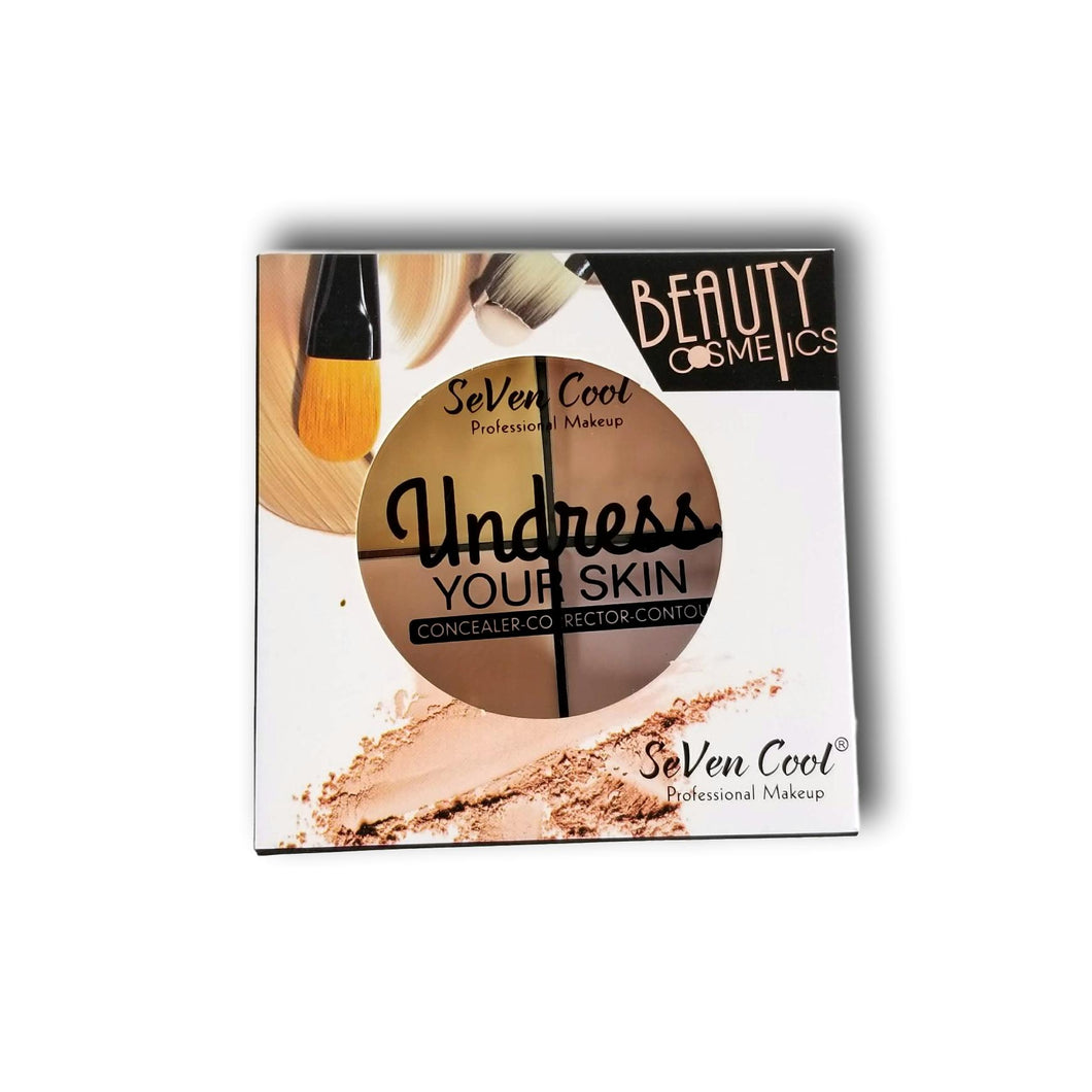 UNDRESS YOUR SKIN CONCEALER-CORRECTOR CONTOUR SEVEN COOL