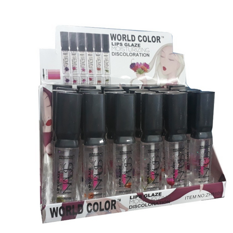 LIPS GLAZE MOISTURIZING NAUS WORLD COLOR