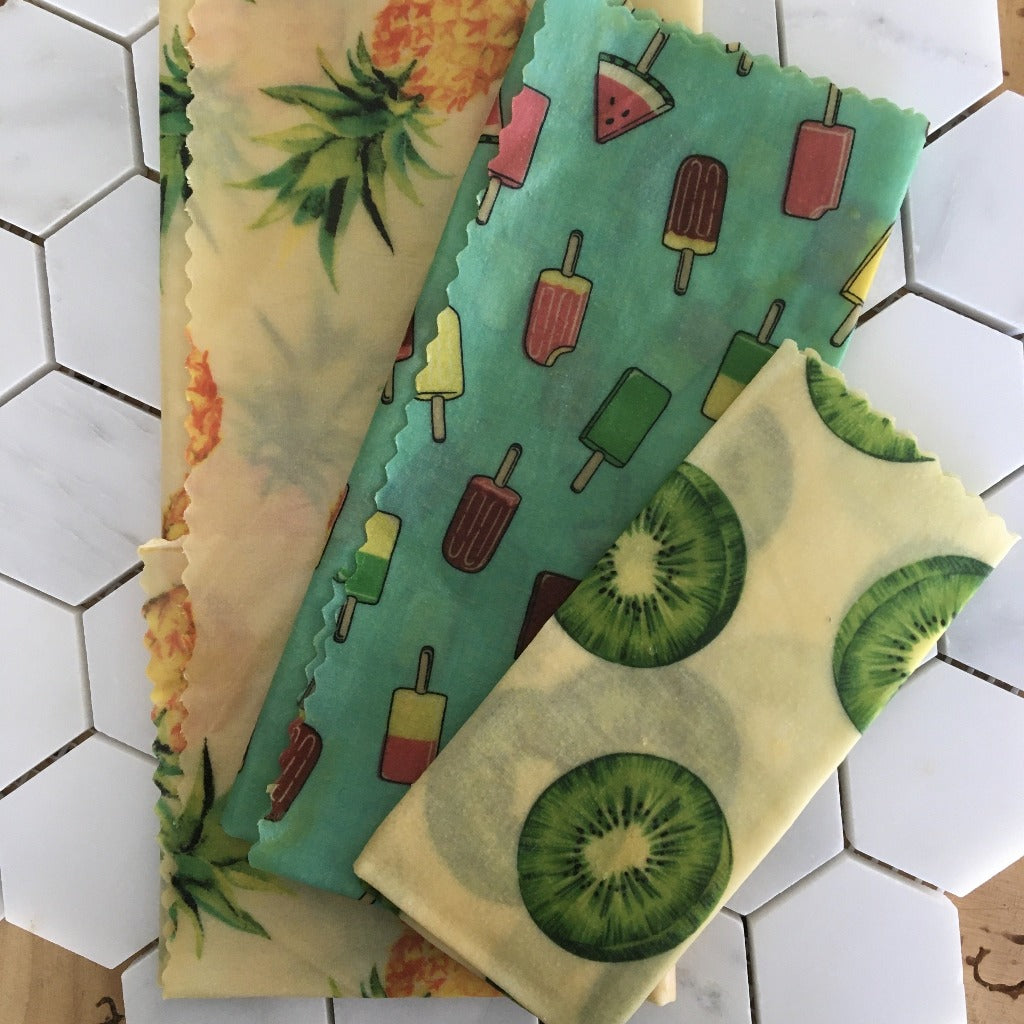 Beeyond Honey Beeswax Wraps 3pk