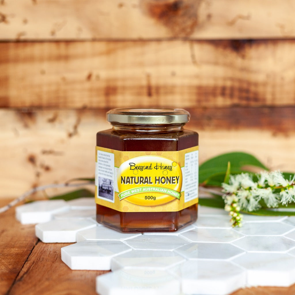Beeyond Honey 500g Jar Wandoo Honey