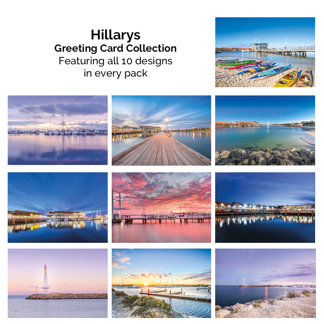 Far Photography Hillarys Greeting Card Collection