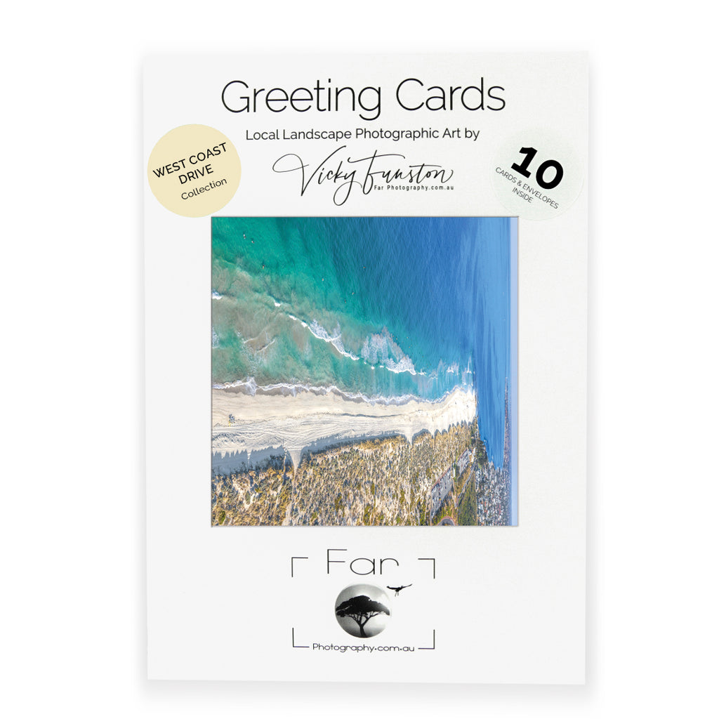 Far Photography West Coast Drive Greeting Card Collection