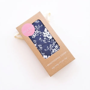 Pepe And Peach Breastfeeding Cover – Navy Blossom