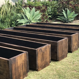 Rustic Chix Planter Box