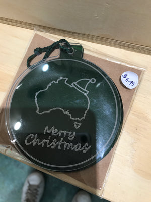 Milestone - Aus Merry Christmas green