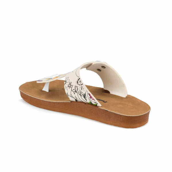 Sandals Spring Floral T-Sandals - Mythical Kitty