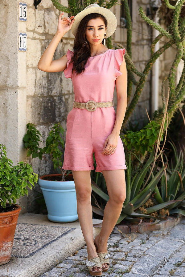 Rompers Princesa Belted Romper - Mythical Kitty