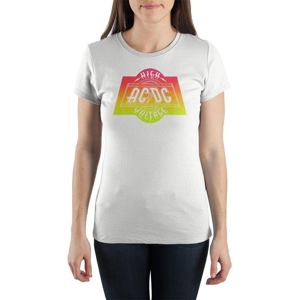 Graphic T-Shirts ACDC High Voltage Tee Rock TShirt - Mythical Kitty
