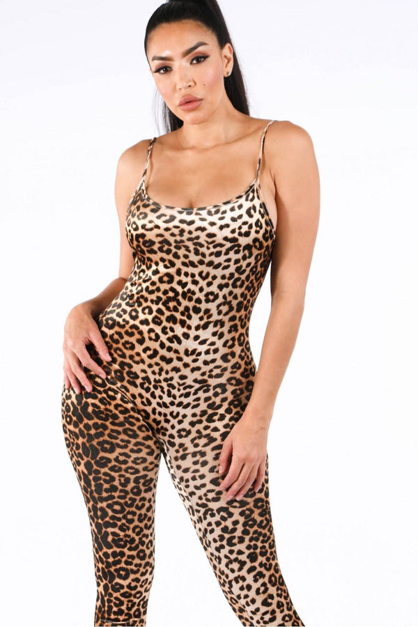 Kamelia Leopard Jumpsuit - Mythical Kitty