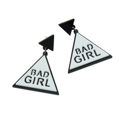 Drop Earrings Bad Girl Drop Earrings - Mythical Kitty