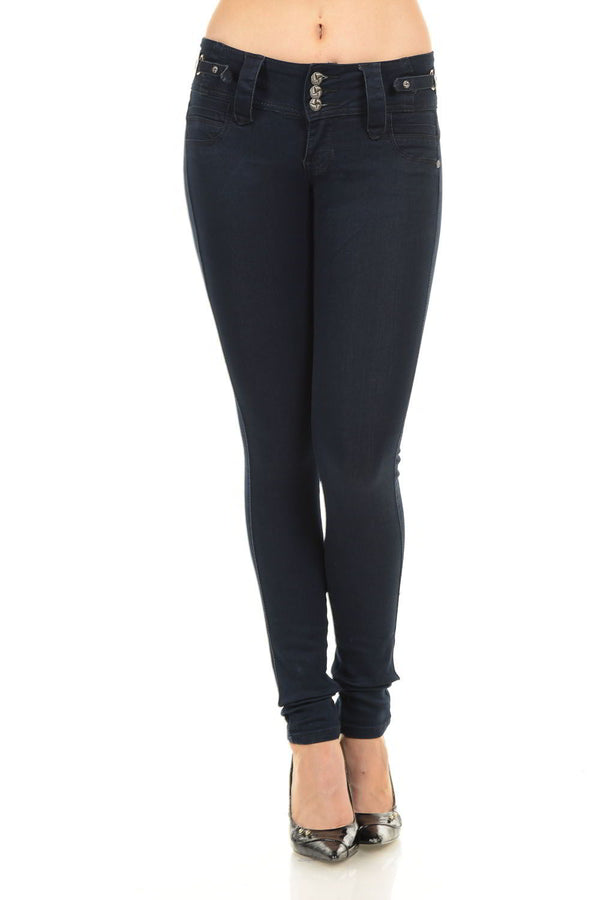 Jeans Colombian Push Up Jeans by M. Michel Jeans - Mythical Kitty