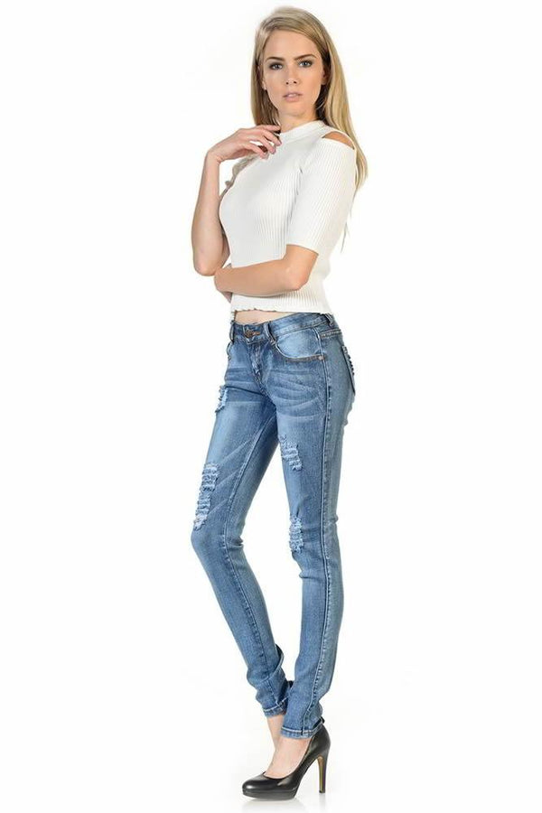 Push-Up Jeans Sweet Look Push-Up Jeans - Mythical Kitty