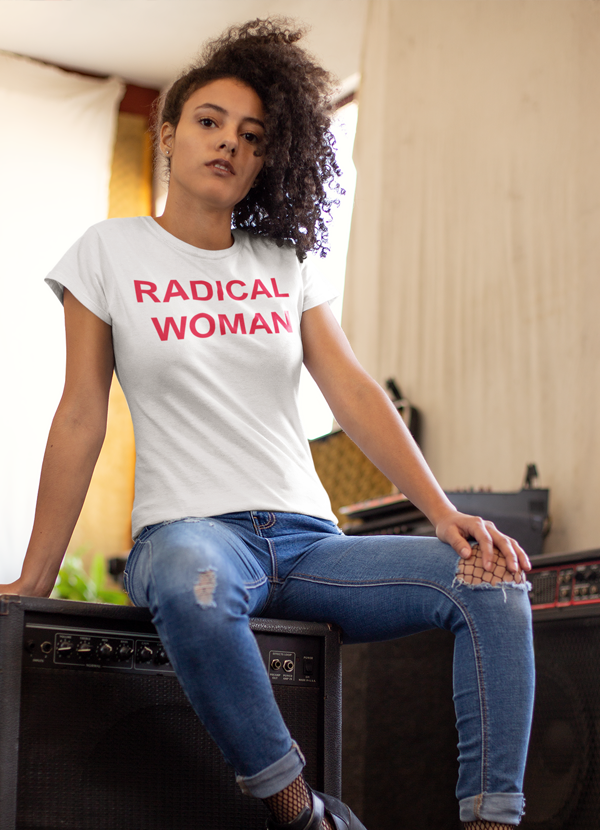 Graphic T-Shirts Radical Women T-shirt - Mythical Kitty