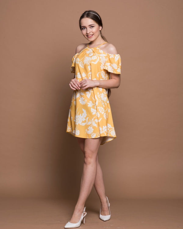 Mini Dresses Sunny Days Short Dress - Mythical Kitty