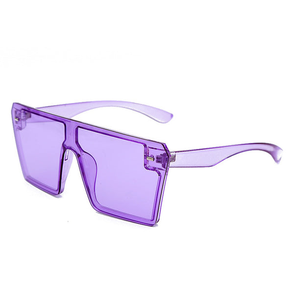 Sunglasses Oversized Square Sunglasses - Mythical Kitty