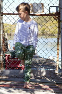 Archer Pants - Serpent - Lawn