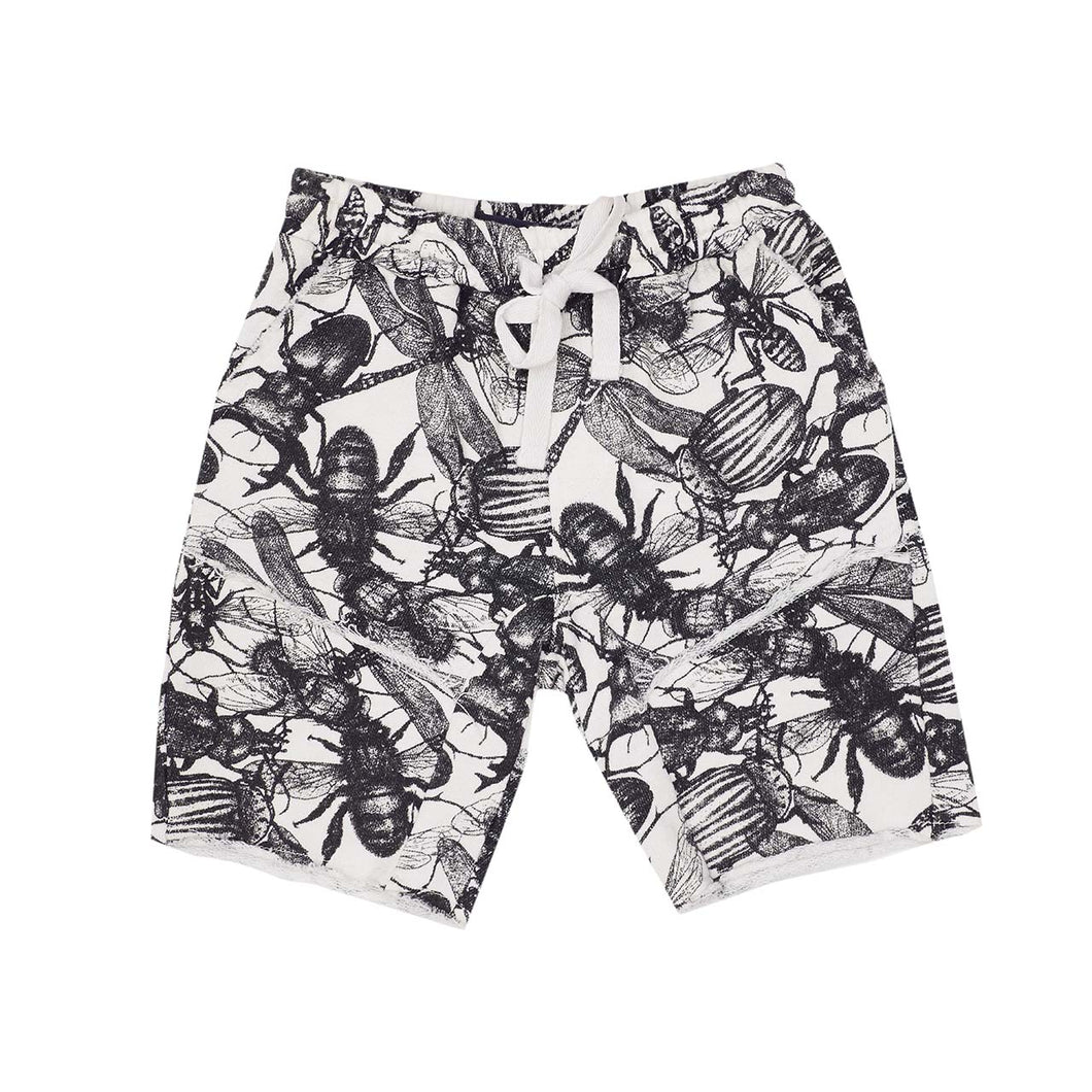 Cooper Shorts - Don't Bug Me - B&W