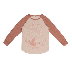 Hike Raglan T-Shirt - Oak