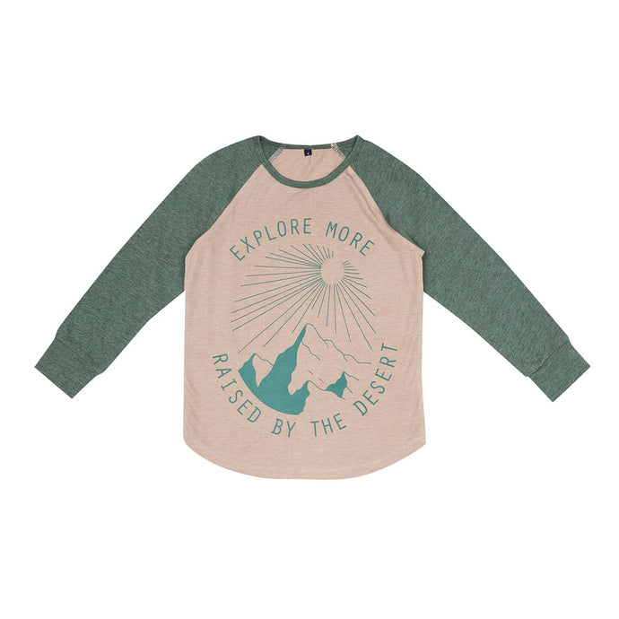 Hike Raglan T-Shirt - Pinetree