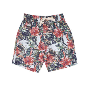 Jed Shorts - Hibiscus Island Print