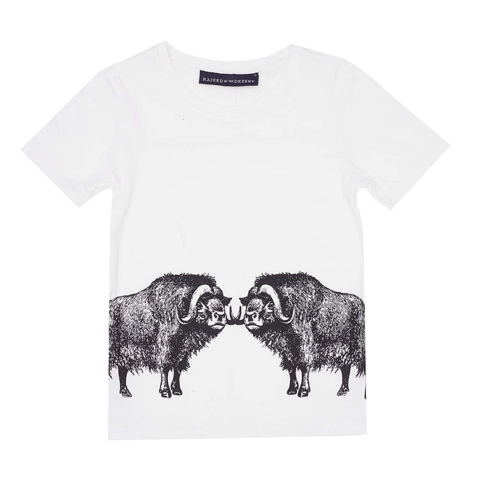 Nixon T-Shirt - Double Beef - White Sand