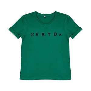 RBTD V-Neck T-Shirt - Algae