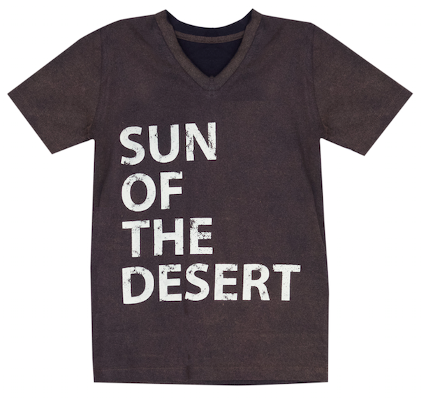 Frank T-Shirt -Navy - sun of the desert