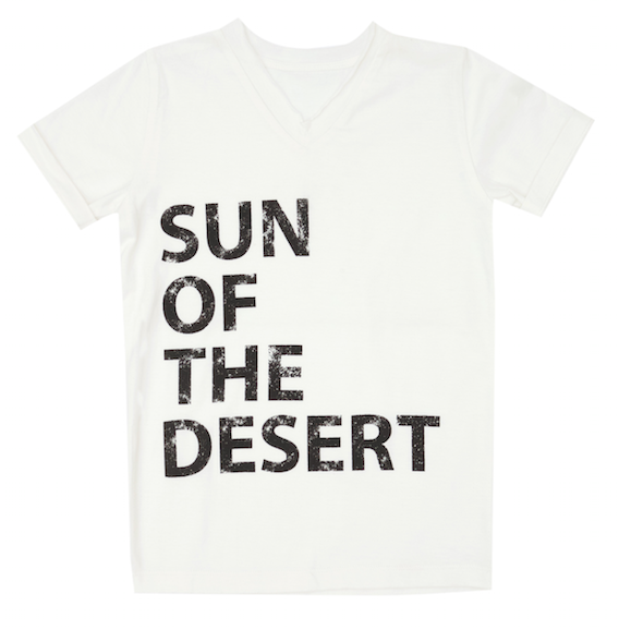 Frank T-Shirt -Off White - sun of the desert