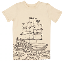 Lochie T-Shirt -Outline Ship Starkers