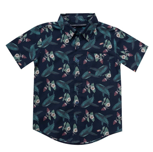 Henry Shirt - Shark Bouquet