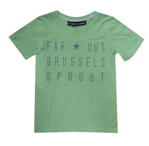 Lewis T-Shirt - Far Out Green