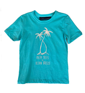 Lewis T-Shirt - Twisted Palm Lagoon