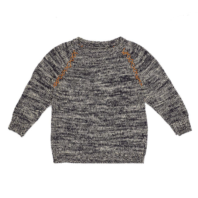 Frankenstein Jumper - Navy