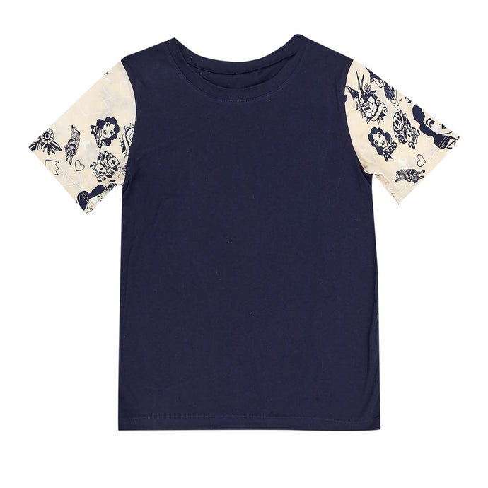 Strong Arm T-Shirt - Navy