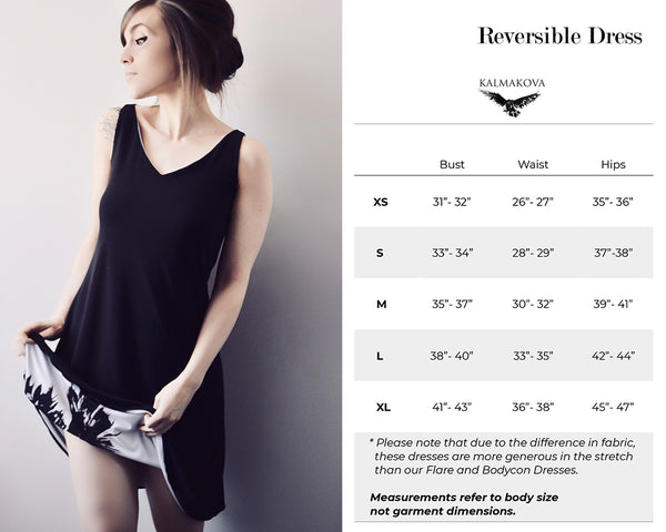 Reversible Dress Size Guide