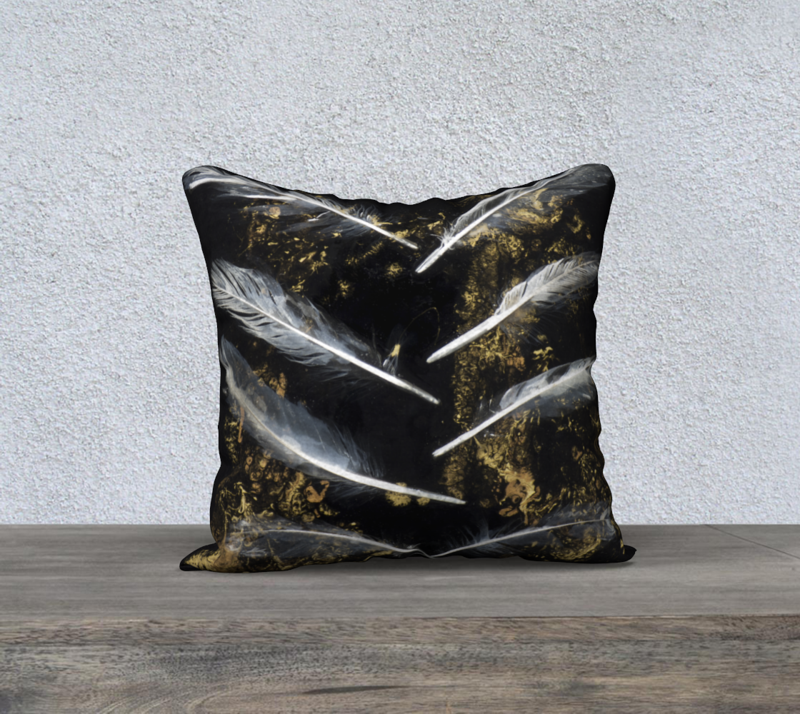 "Alchemy II 18"" x 18"" Pillow Cover"