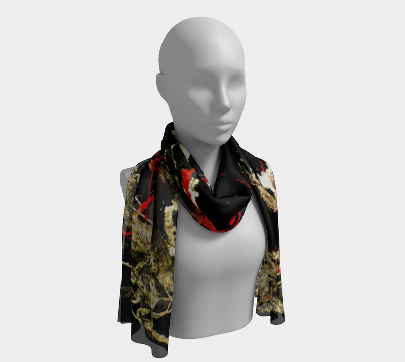 Dance With Chaos Long Scarf