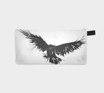 Kalmakova pencil case, crow, bird, raven