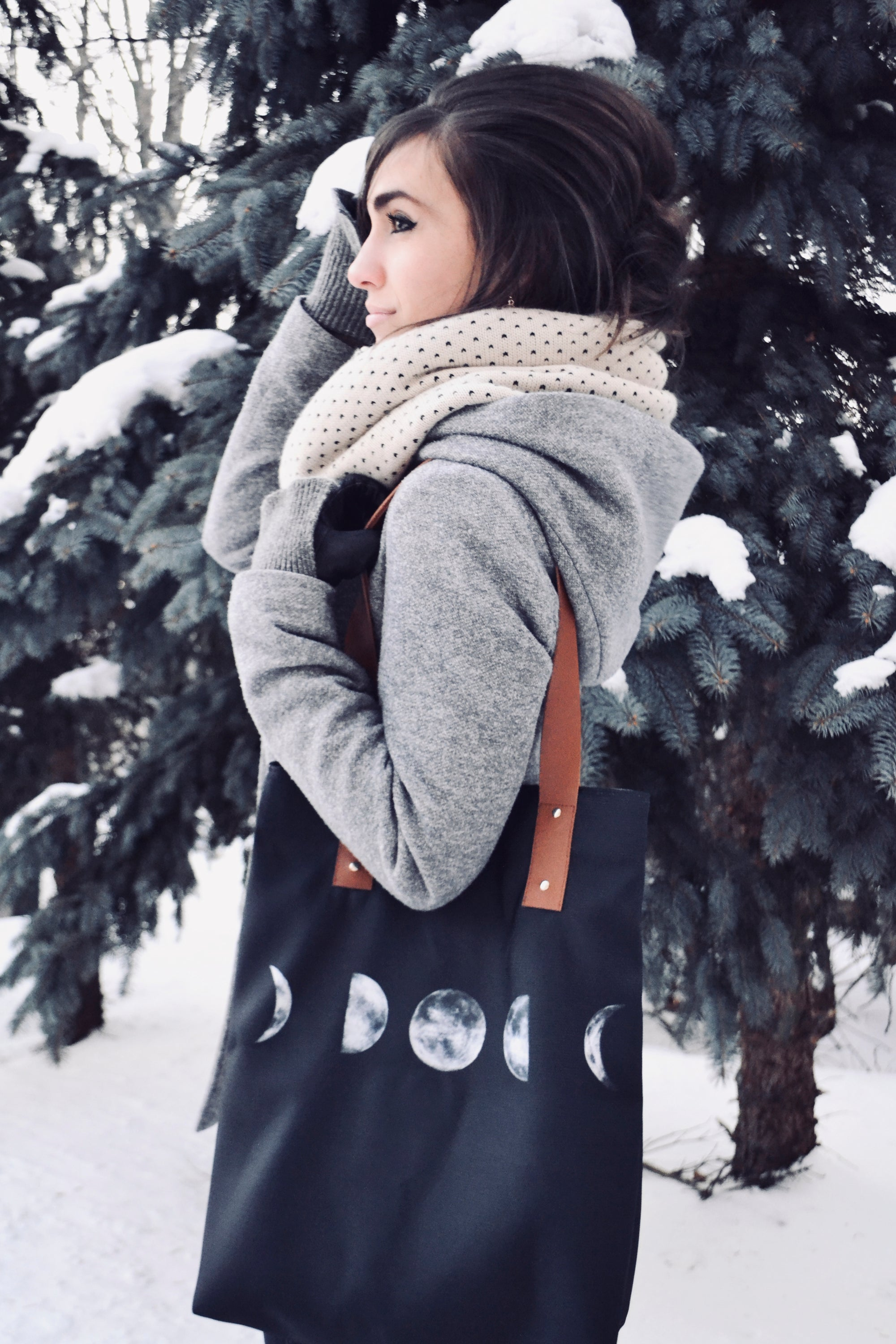 Moon Phases Tote