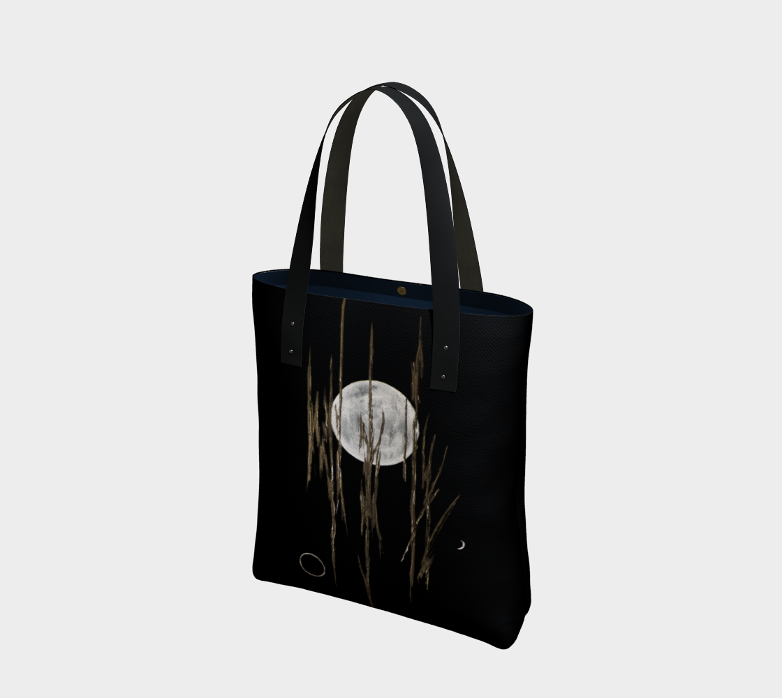 Full moon and twigs tote bag, laptop, yoga